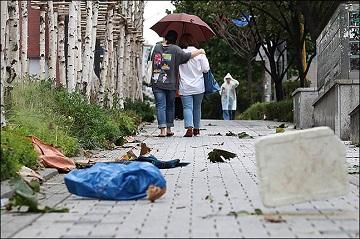 [오늘날씨] 태풍 '링링' 영향으로 전국 흐리고 비
