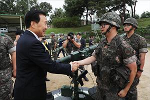 바른미래당 군부대 방문