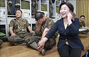 정의당, 추석 앞두고 군부대 위문