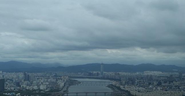 [오늘날씨]중부지방 흐리고 일부지역선 비…강수량 5㎜ 안팎