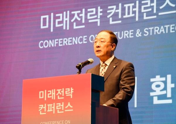 홍남기 부총리, 러시아 방문 '남북러 3각 협력' 논의