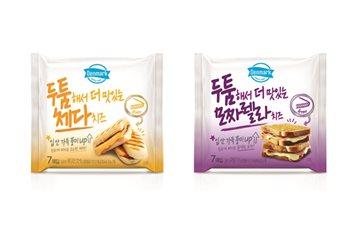 동원F&B '덴마크 두툼해서 더 맛있는 치즈' 2종 출시