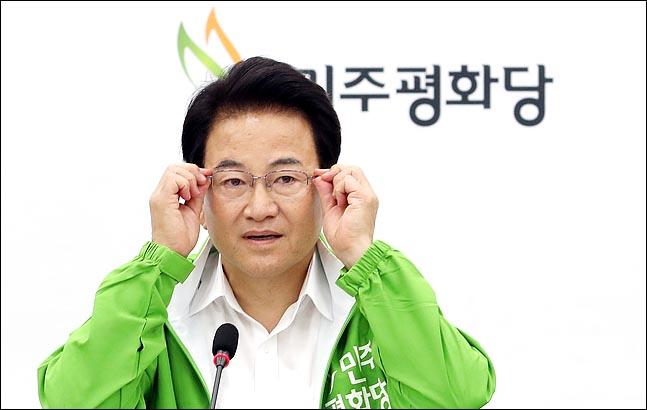정동영, 황교안 '민부론' 반박하며 '민균론' 제시