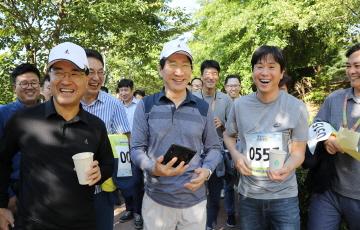 삼성디스플레이, '함께 걷는 길' 행사...소통·나눔 강조