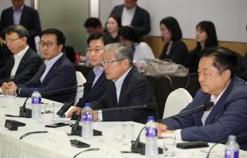 전경련, 더불어민주당과 간담회 개최...여당 경제계 목소리 청취