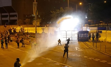 中, 미국의 홍콩 '우산혁명 5주년' 지지에 강력 비난
