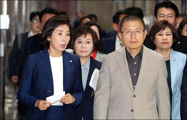 """황교안 """"친문 주도 검찰 겁박 집회는 文정권 '사법계엄령'"""""""