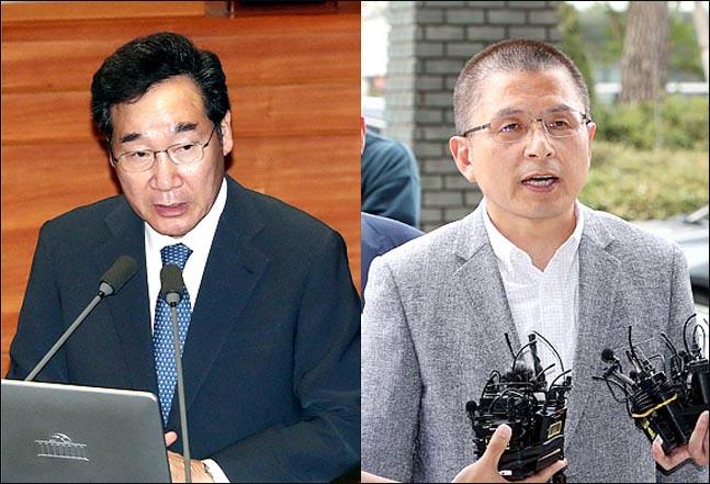 [데일리안 여론조사] 황교안, 20%대 회복…이낙연과 '양강 구도' 복원