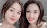 [SNS샷] '글래머 여신' 레이양 가족 공개, 우월한 유전자