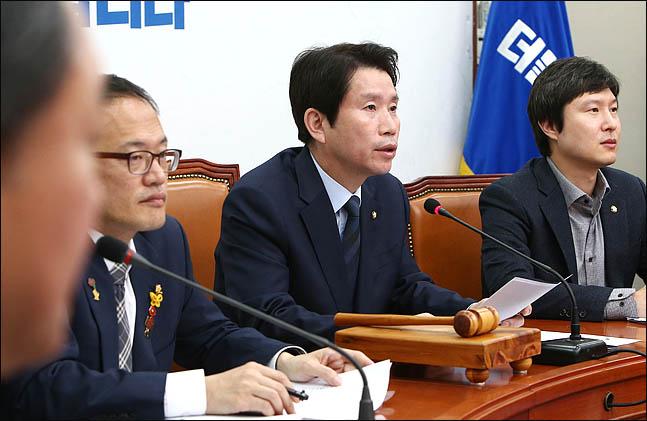 """이인영 """"실행의 시간 임박했다""""…검찰개혁 법안 강행 시사"""