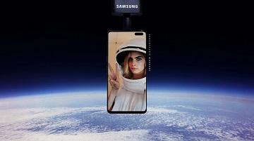 삼성전자, 갤S10으로 우주서 '셀피' 찍는 체험 마케팅 진행