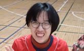 '뇌성마비 장애' 문채원양, KS 3차전 시구