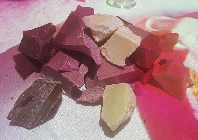 제4의 초콜릿, 루비 초콜릿을 아시나요