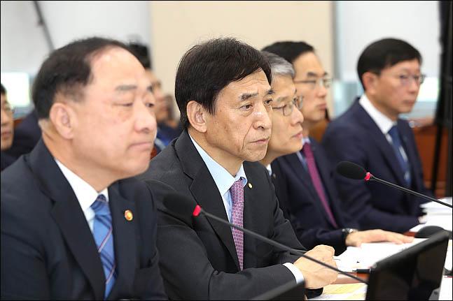 """[2019 국정감사] 이주열 """"올해 2% 경제 성장 쉽지 않아"""""""