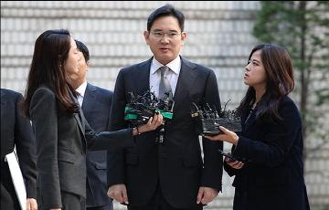 """이재용 부회장 파기환송심 재판 출석...""""심려끼쳐 송구"""""""