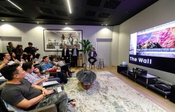삼성전자, 싱가포르에 '더 월' 쇼룸 오픈...동남아 시장 본격 공략