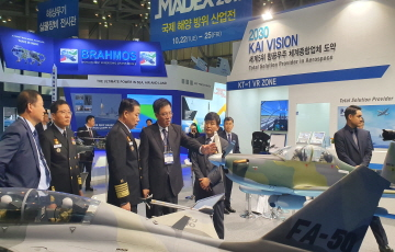 KAI, 해군·해병대에 국산항공기 우수성 홍보