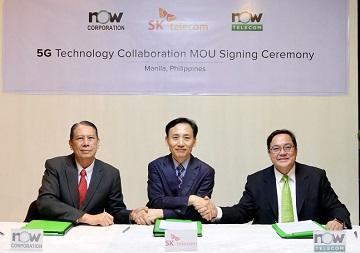 SKT, 필리핀에 韓 5G 상용화 기술 전수