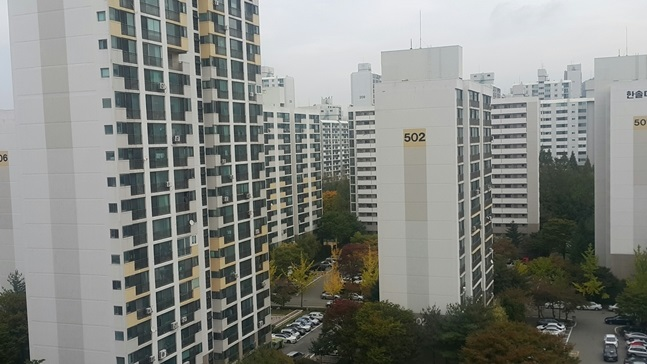 1기신도시 인근 아파트 거래 10건 중 7건은 노후아파트…새 아파트 절실