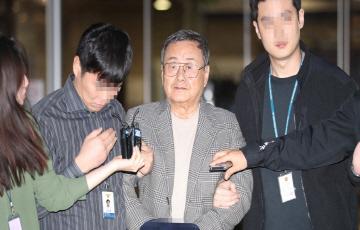 """김준기 전 DB 회장 구속...""""증거인멸 우려"""""""