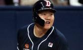 '결승타 2방' 오재일, 박세혁 제치고 KS MVP