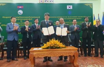 에너지공단, 캄보디아에 한국형 전기 바이크 보급