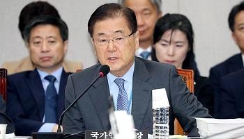 北 두둔한 안보실장…'위협'도 '위반'도 아니다