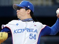 '역시 탄탄' 양현종-김광현-차우찬 계투...김경문 감독 흐뭇