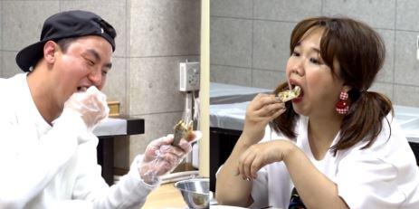 '전참시' 홍현희 vs 매니저 박찬열, 극과 극 해산물 먹방
