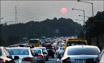 [고속도로 교통상황] 서울 방향 고속도로 정체 오후 5~6시 절정