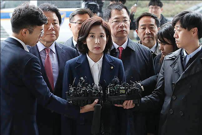 나경원 '패트 충돌' 검찰 첫 출석, 한국당 반응은?…