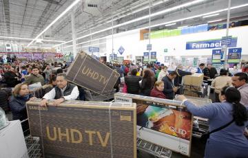 [포토]삼성 TV, 멕시코 블랙프라이데이서 인기 열풍