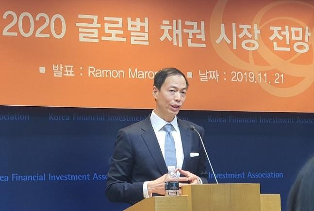 "JP모건 ""글로벌 채권 유리···한국 경제성장률 내년 2% 전망"""
