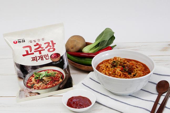 농심, '집밥감성 고추장찌개면' 출시