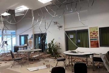 태국북부 규모 6.1 지진… 방콕 고층건물 '흔들'