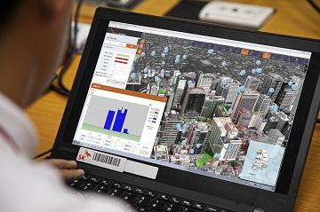 SKT, 3D 실사 지도로 5G망 설계…공간정보산업진흥원과 협약