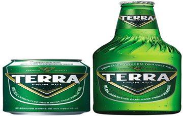 하이트진로, '테라' 병 디자인 관련 특허심판 승소
