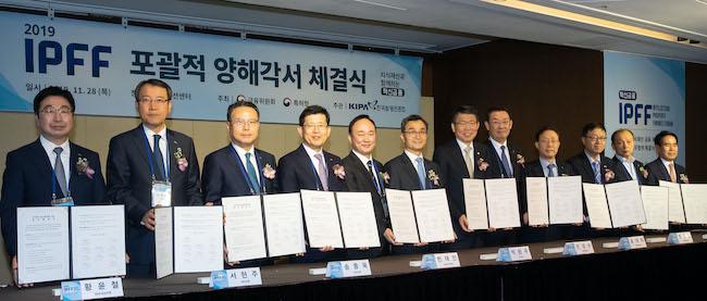 금융위·신보·특허청, 지역 중소·벤처기업 IP금융 지원 강화 '맞손'