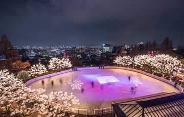 그랜드 하얏트 서울 호텔, 아이스링크 개장