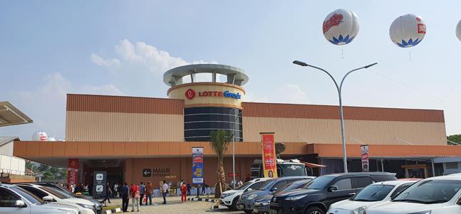 롯데마트, 인도네시아 자바섬에 48호점 오픈