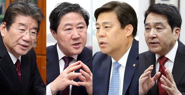 한국당 원내대표 경선 D-DAY…'황심'의 향방은?