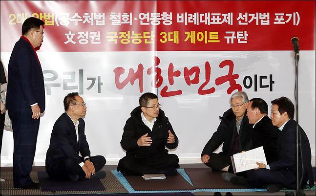 '무법자들' 4+1 협의체 폭주…한국당, 최후까지 결사항전