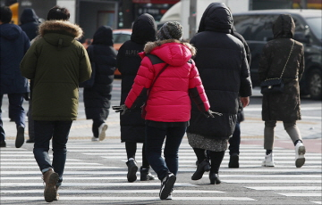 [내일날씨] 아침 기온 더 내려가…최저 '-9도'
