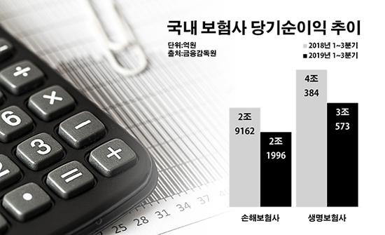 [2019 데일리안 결산] 역대급 영업 부진 보험사…저금리 충격까지 '첩첩산중'