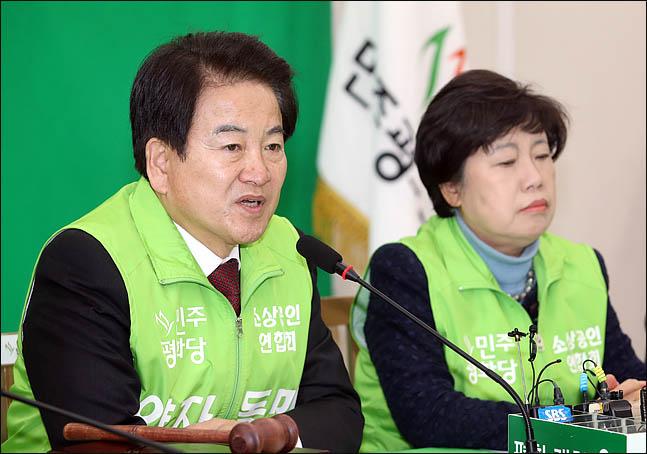 """정동영 """"산 넘어가는 선거제 개혁, 이제 헌법 개혁 물꼬 터야"""""""