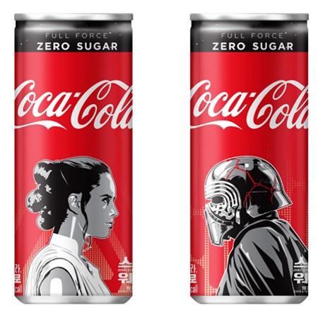 '코카-콜라 제로 X 스타워즈' 스페셜 패키지 출시