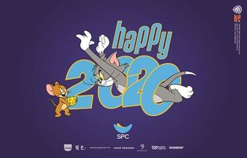 SPC그룹, '톰과 제리' 캐릭터 'HAPPY 2020' 캠페인 진행