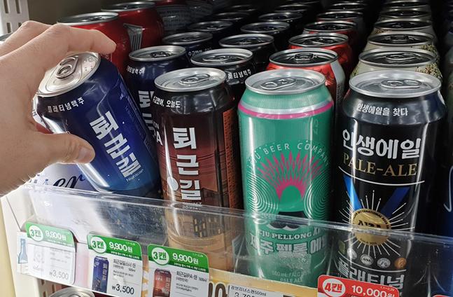 일본 맥주 빈자리, 국산 수제맥주로 채운다