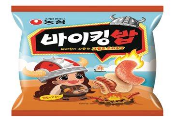 농심, 소시지맛 스낵 '바이킹밥' 출시