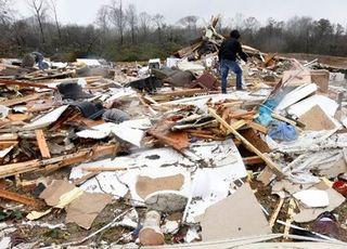 美 남부에 겨울폭풍·토네이도 강타…최소 10명 사망